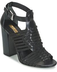 Lauren by Ralph Lauren Harietta Sandals Casual Sandals - Black