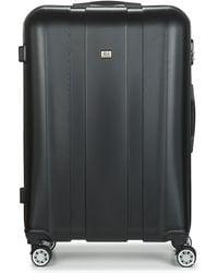 David Jones Chauvetto 107l Hard Suitcase - Black