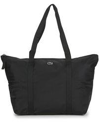 Lacoste Jeanne Large Shopper Bag - Black