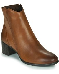 Marco Tozzi 2-25399-35-372 Low Ankle Boots - Brown