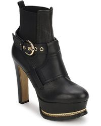 Moschino Ma2105 Low Ankle Boots - Black