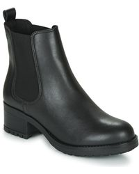 Betty London Lucene Low Ankle Boots - Black