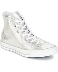 008b38e07f42 Converse - Chuck Taylor All Star Cuir Hi Women s Shoes (high-top Trainers)