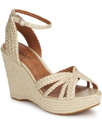 Lucky Brand Lainey Women's Sandals In Beige - Natural
