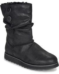 Skechers Keepsakes 2.0-big Button Slouch Mid Boot Fashion, Black, 5 M Us