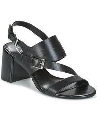 Lauren by Ralph Lauren Florin Women's Sandals In Black