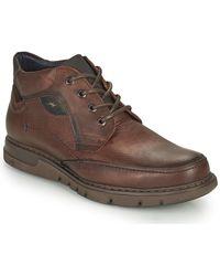 Fluchos Celtic Mid Boots - Brown