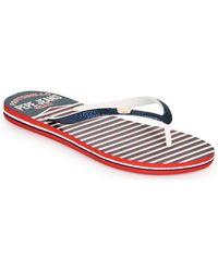 Pepe Jeans Rake Sailor Flip Flops / Sandals (shoes) - Blue