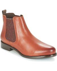 Betty London Hayati Mid Boots - Brown