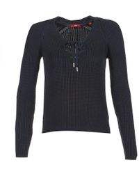 S.oliver Toubidelle Women's Jumper In Blue