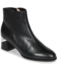 Mellow Yellow Eclairi Low Ankle Boots - Black