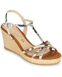 Unisa Llinar Sandals - Brown