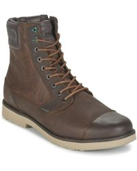 Teva   Durban Tall - Leather Mid Boots   Lyst