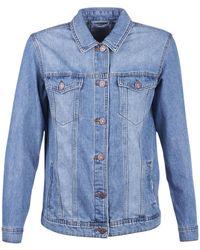 Noisy May Nmole Denim Jacket - Blue