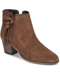 Betty London Heidi Women's Low Ankle Boots In Brown