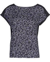 Esprit Modal Print T Shirt - Blue