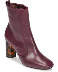 KG by Kurt Geiger Stride Low Ankle Boots - Red