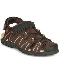 Geox Uomo Sandal Strada A Sandals - Brown