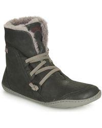 Camper Peu Cami Mid Boots - Black