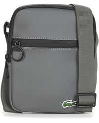 Lacoste Lcst Small Pouch - Grey