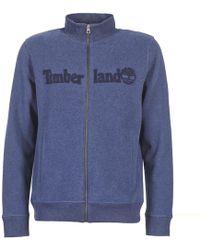 Timberland - Exeter River Full Zip Sweat Men's Sweatshirt In Blue - Lyst