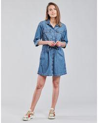 Levi's Levis Ainsley Utility Denim D Dress - Blue