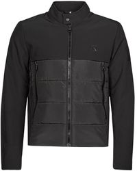 Calvin Klein Moto Jacket Jacket - Black