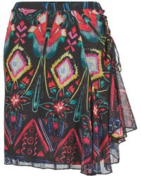 Desigual - Jotiji Women's Skirt In Multicolour - Lyst