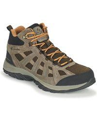 Columbia Redmond Iii Mid Waterproof Walking Boots - Brown