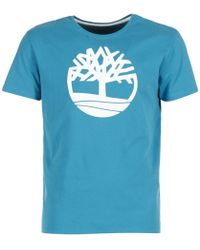 Timberland - Ss Kennebec River Brand Tree Tee T Shirt - Lyst