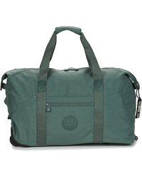 Kipling Art On Wheels M Travel Bag - Blue