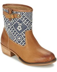 Roxy - Clyde Mid Boots - Lyst