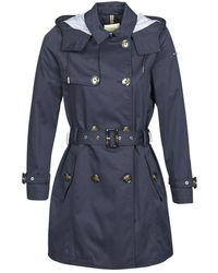 Esprit Classic Trench Trench Coat - Blue