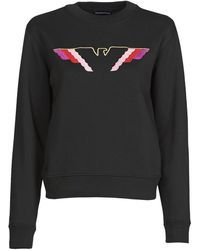 Emporio Armani 6h2m7u Sweatshirt - Black