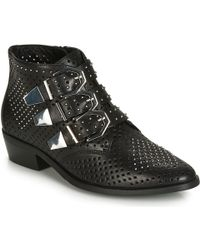 Bronx Reza Mid Boots - Black