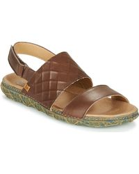 El Naturalista Redes Sandals - Brown