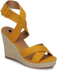 ONLY Amelia Wrap Sandals - Yellow