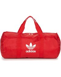 adidas Ac Duffle Sports Bag - Red