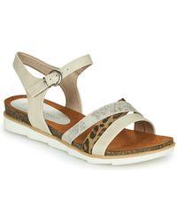 Marco Tozzi 2-28410 Sandals - Natural