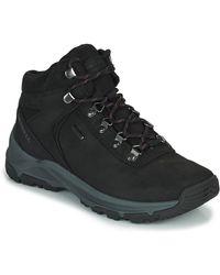 Merrell Erie Mid Ltr Wp Walking Boots - Black