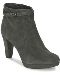Clarks - Kendra Shell Low Ankle Boots - Lyst