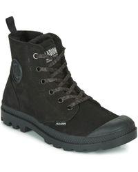 Palladium Pampa Hi Zip Wl Womens Black Boots