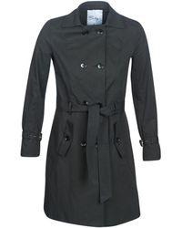 Betty London Jivelu Trench Coat - Black