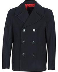 Tommy Hilfiger Short Peacoat Coat - Blue