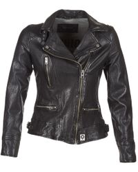 Oakwood - Video Women's Leather Jacket In Black - Lyst
