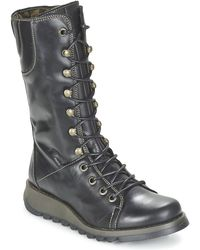 Fly London - Ster High Boots - Lyst
