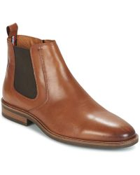 Tommy Hilfiger Essential Leather Chelsea Boots - Brown