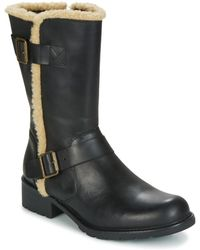 Clarks Orinoco Art Women's Mid Boots In Black