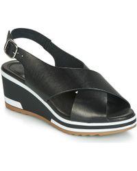 Kickers Wing Sandals - Black