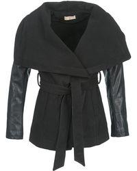 Moony Mood Dumout Coat - Black